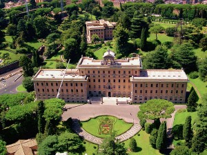 Vatican Gardens 4 (Country within a country: the Vatican City)