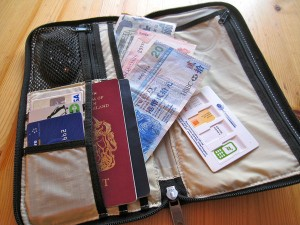 Bought a travel wallet :( (Are Prepaid Credit Cards Worth It When Traveling?)