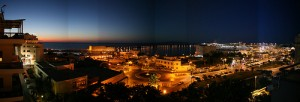 Heraklion Harbour After Sunset (Discovering Crete After Sunset)
