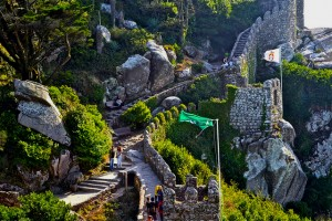Moors Castle in Sintra (The most famous Sintra monuments)