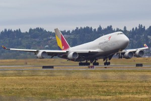 ASIANA 747 HL-7413 (The Ten Best Airline Companies in the World)