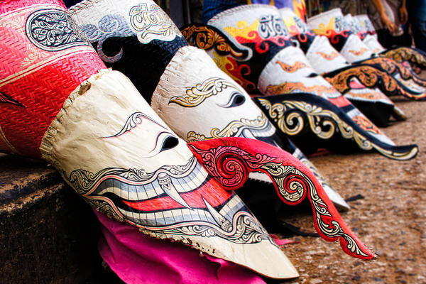 Phi Ta Khon Thai Festival