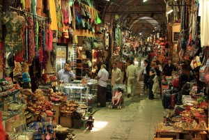 Just one of many hallways in the Grand Bazaar, Istanbul (Top 8 Places to Travel in Turkey)