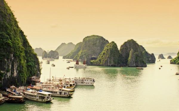 Relaxing in Vietnam