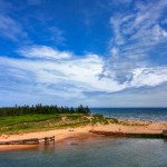 Singing Sands, Basin Head provincial park, Prince Edward Island