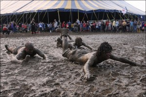 Glastonbury Mud