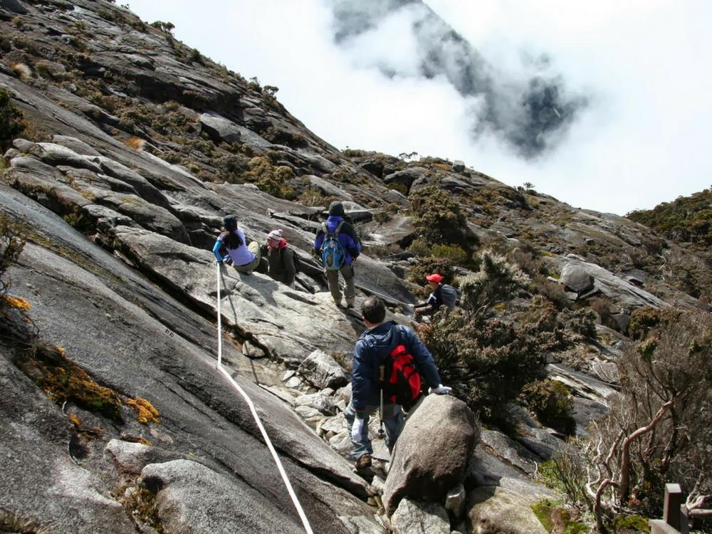 Trekking - Mount Kinabalu, Malaysia