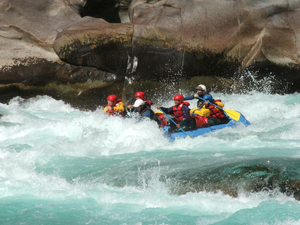White Water Rafting - Maykha River, Myanmar