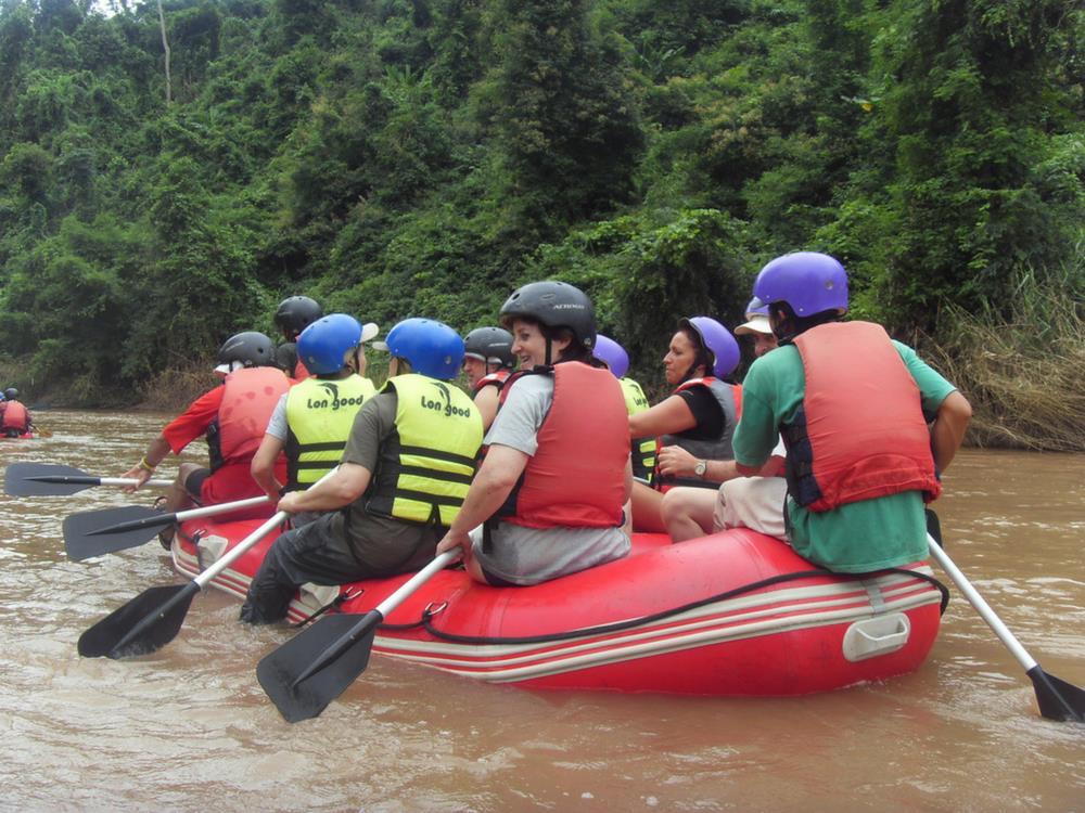 White Water Rafting - Nam Ha River, Laos