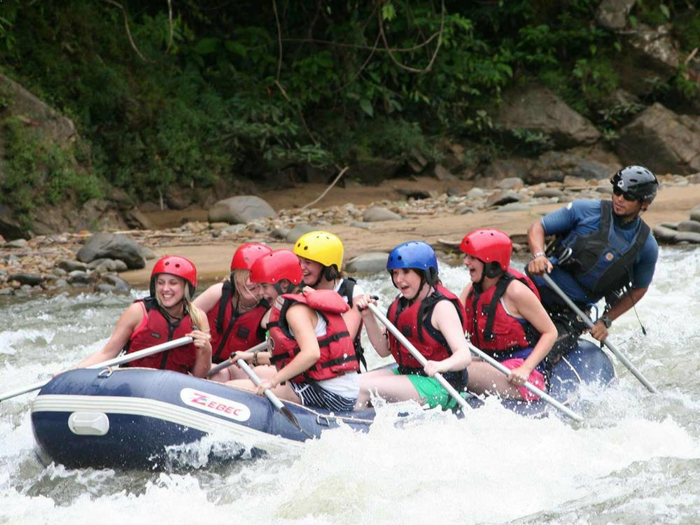 White Water Rafting - Padas River, Malaysia