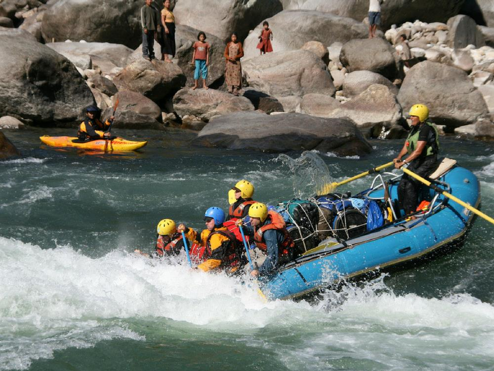 White Water Rafting - Pai River, Thailand
