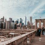 Tourists in huge cities